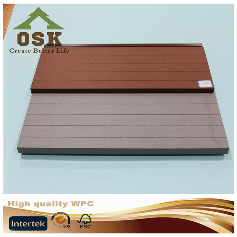 hot sale outside wood plastic composit wpc panel boards with low price