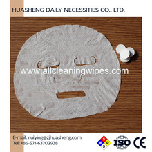 Spunlace facial mask nonwoven, cut facial mask OEM Coin Compressed Face Mask