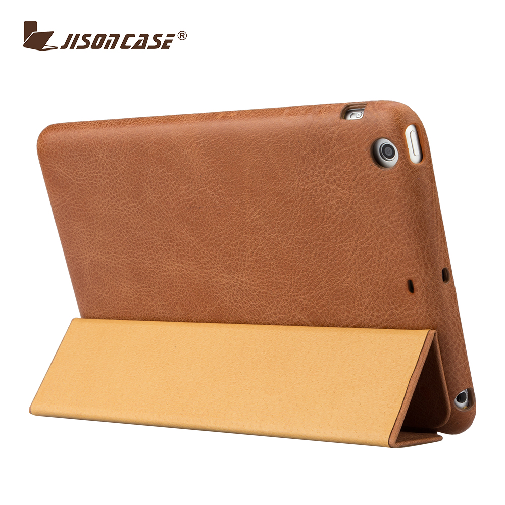 New Product Leather Smart Cover for Ipad Mini 2 Case Leather for Tablet Case