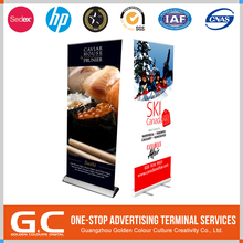 Cost Effective Multifunction With Logo Electric Roll Up Banner Stand