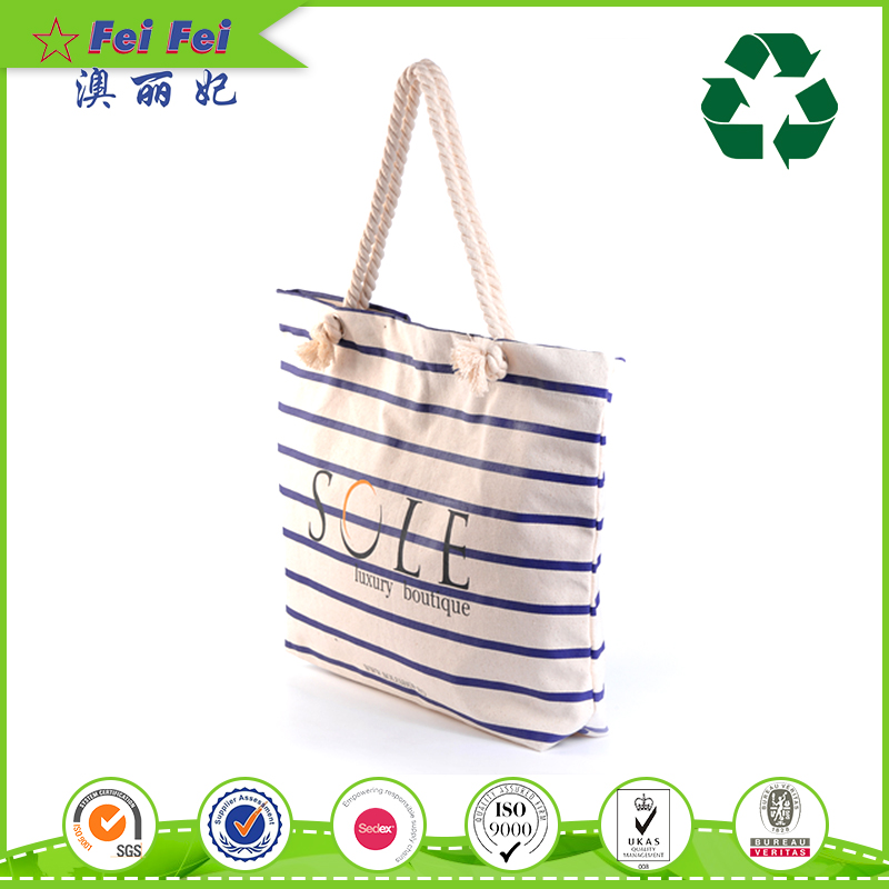 Wholesale custom expandable cotton tote shopping bags reusable