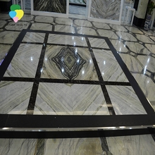 Chinese good quality polished black marble tiles price malaysia