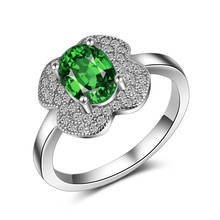 925 b sterling silver graduation birthstone ring