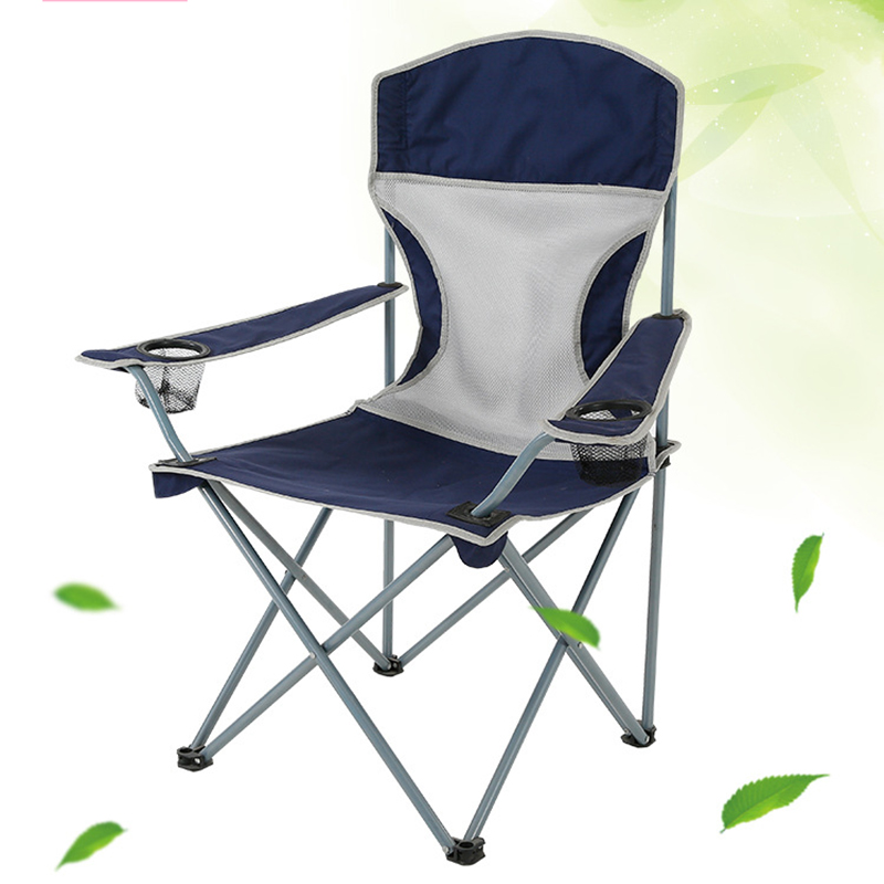 Promotional Folding 600D Nylon Backpacking chair with Custom Logo and Carring Bag