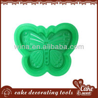 butterfly shape large silicone baking mold