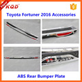 for toyota fortuner accessories rear bumper foot plate for toyota fortuner 2016 accessories rear bumper guard plate for fortuner