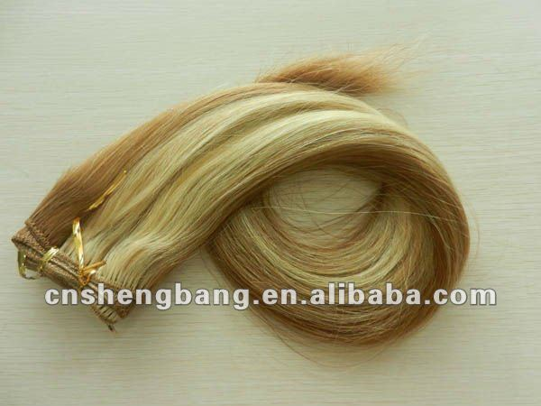 Promotion Sale! wholesale price 20inch 8/613# sensational human hair weave