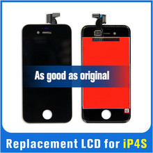 China OEM factory price LCD outer front glass for iphone 4S replacement