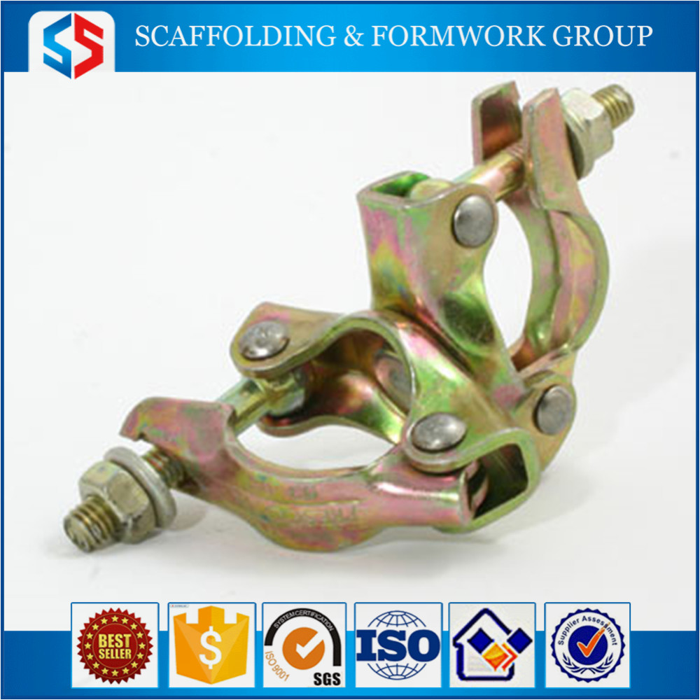 Tianjin Shisheng scaffolding coupler joint fastener clamp swivel coupler