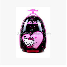 classical and economical hello kitty design suitcase kids for promotion