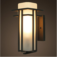 LED fashion indoor and outdoor fixture wall light