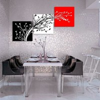 Hoting Selling Modern Canvas Painting 3 Panel for Home Decor