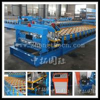 Poland type hot sale hydraulic glazed tile equipment for metalic roof production roll forming machine