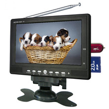 Factory price desktop 7 inch back seat tv for car