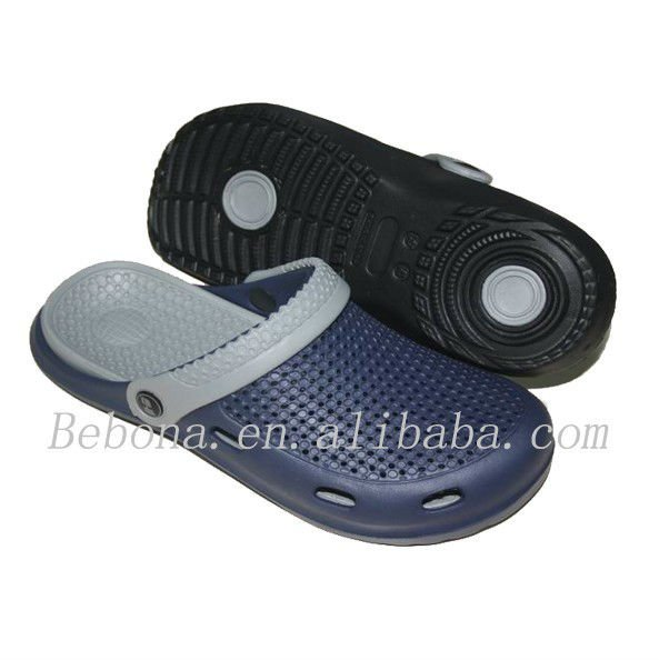 High injection garden mens eva clogs