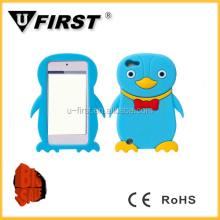 For ipod touch 5 case, silicon cute case