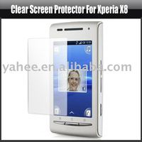 Clear Screen Protector for Sony Ericsson Xperia X8,YAP106A