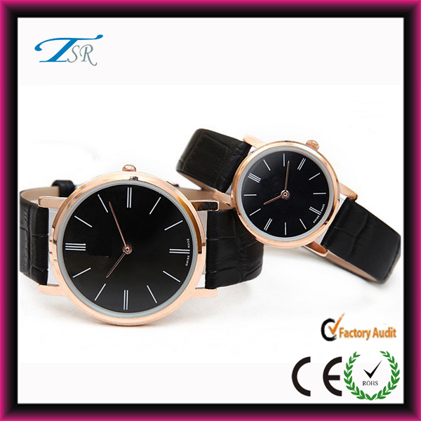 2014 fashion cool watch cheap leather watches with new designd