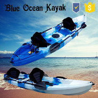 Blue Ocean 2015 hot sale new design summer style double sea kayak/touring double sea kayak/playing double sea kayak