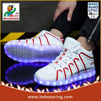 low top led shoes Party led fashion shoes