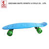 Hot Selling Aluminum Bracket LED Wheel Plastic Skateboard