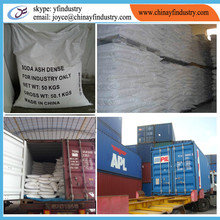 china soda ash dense price food grade