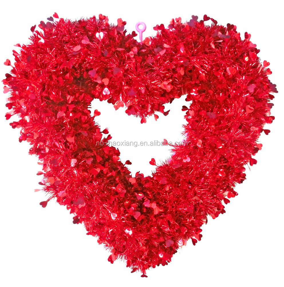 heart shape wedding or Valentine's Day party decoration heart-shaped pvc material/table decoration