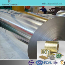 Made in china Industrial Blister Packing Raw Material Aluminum Foil