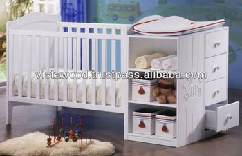 baby bed room set , carving baby product , cot & storage
