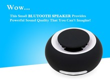 Bluetooth speaker the newest support AUX-IN long playing time waterproof with IPX 4 made from china