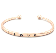 new style bangles fashion simple design custom love gold bangles pictures