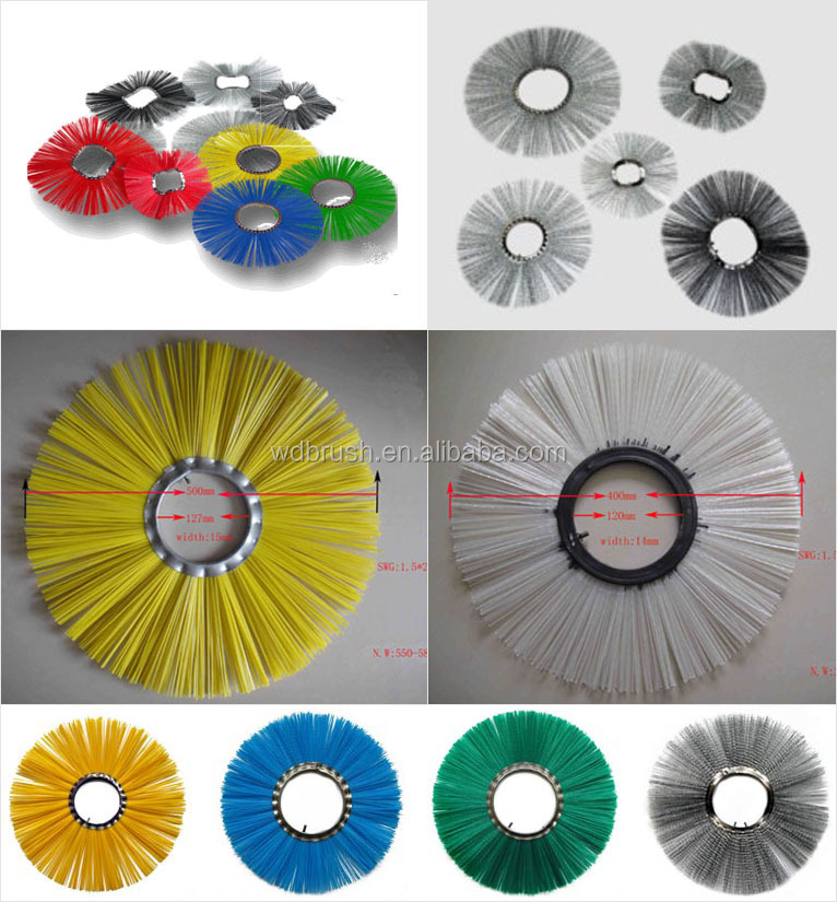 Mechanical Sweeper Roller Brush parts - Cleaning Wafer
