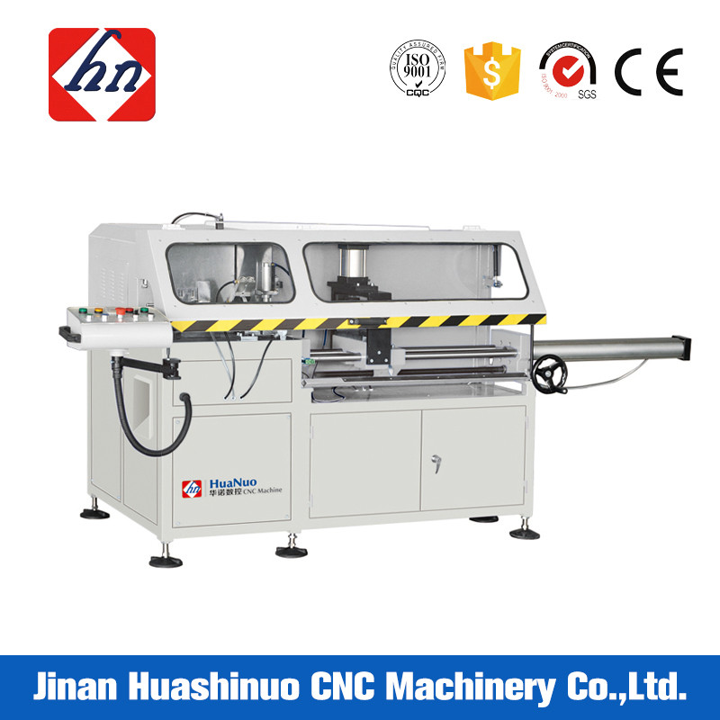 Aluminum profile automatic heavy duty manual corner cutting machine