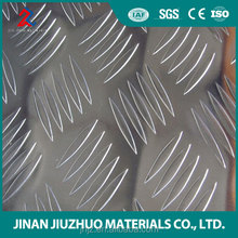 Nice quality 1060 temper H14 H24 4*8ft aluminum tread plate