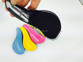 Beautiful cleaning boar bristle vent hair brush