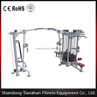 5 Multi Station/Functional Trainer/ body strong fitnass equipment Crossfit Fitness Equipment /tz-4009