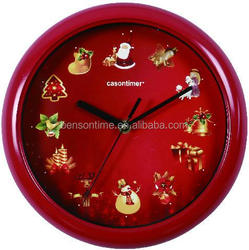 Fashion Wall Clocks Music Sound