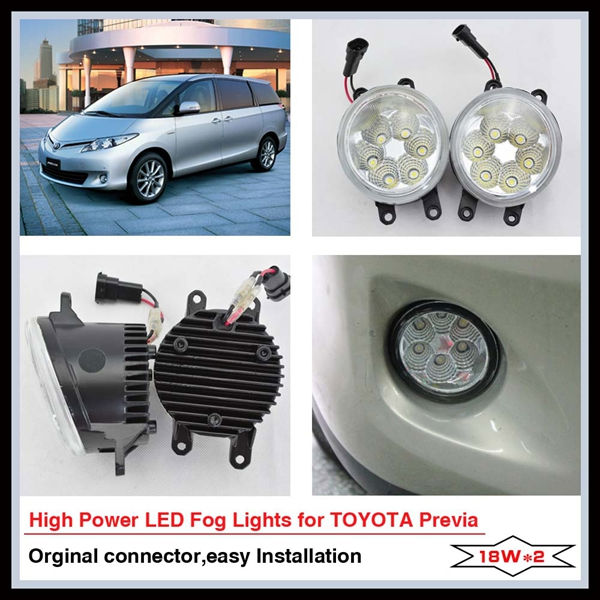 Top quality LED fog lamp For TOYOTA PREVIA