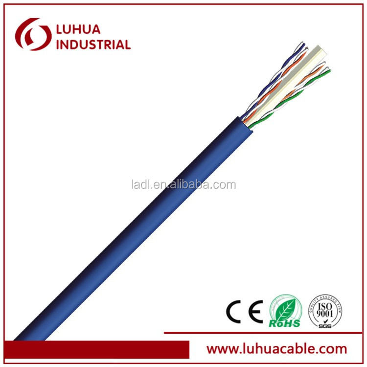 EU Standard UTP CAT5e cable with 23AWG conductor