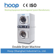 10kg double stack washer and dryer for laundry