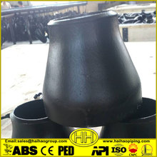 pipe fittings butt welded seamless carbon steel reducer
