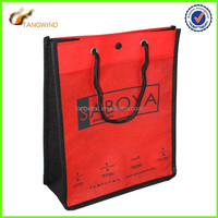 (TWS7006) Handled Style wedding dress laminated non-woven shopping bag with logo
