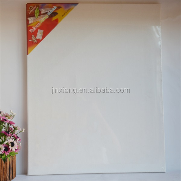 100% Cotton Stretched Blank Canvas Frame