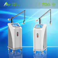Most professional medical equipment skin resurfacing 10600nm rf excited co2 fractional laser