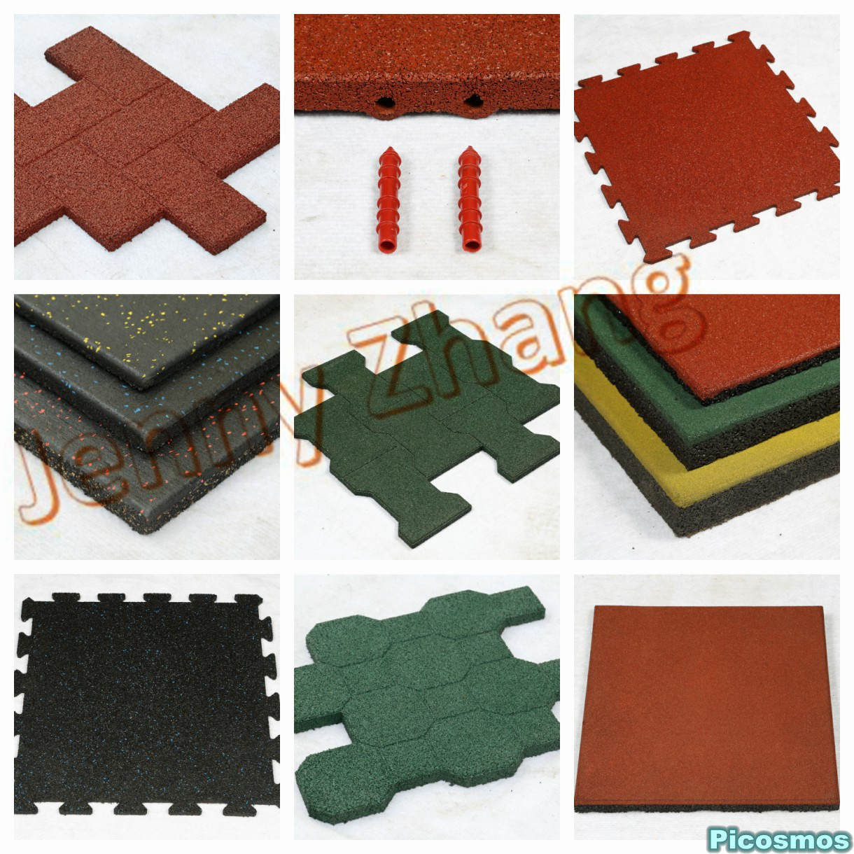 rubber tile series