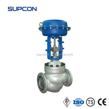 Flange Stainless Steel Globe Valve Various Size Safety Sealed Globe Valve