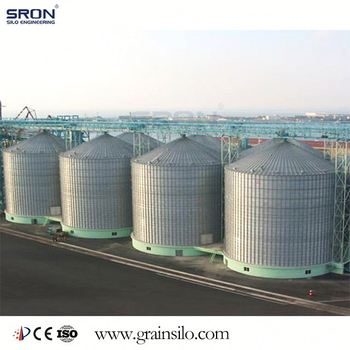 SRON Best Selling Grain Storage Silos, Silos Used For Wheat,Maize, Soybean