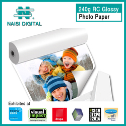 240gsm A4 size RC inkjet lucky glossy photo paper