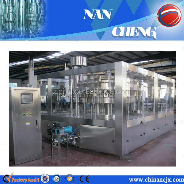 carbonated drink filling machine/gas containing machine