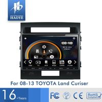 Excellent Quality Small Order Accept Double Din Car Gps Dvd For Toyota Land Cruiser
